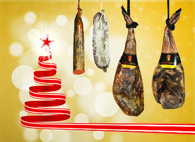 give a Spanish ham gift to be shared.The perfect Christmas gift!