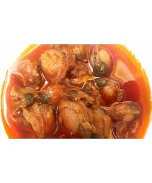 Zamburiñas en salsa de vieira Dardo