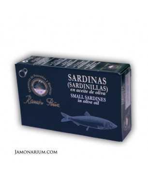 Little sardines in olive oil Ramón Peña 12/16 units