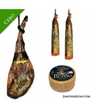 Iberian pata negra cebo Spanish ham