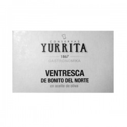 """""""Ventresca"""" Albacore tuna in olive oil Yurrita"""