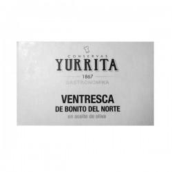 Ventresca de Bonito del norte en aceite de oliva Yurrita