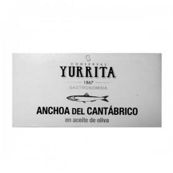 Anchoa del Cantábrico en aceite de oliva Yurrita