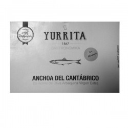 Cantabrian Anchovies in extra virgin olive oil Arbequina Yurrita