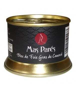 Bloc de Foie gras de pato Natural Mas Parés (130gr)