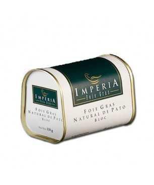 Bloc de Foie gras de canard Naturel Imperia  (130gr)