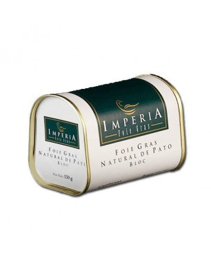 Duck foie gras block nature Imperia (130gr)