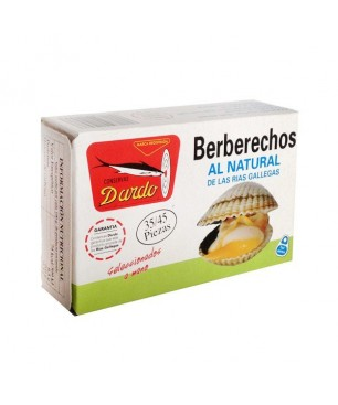 Berberechos al natural Dardo 35/45 piezas (Rias Gallegas)