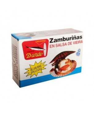 Zamburinas en salsa de vieira Dardo