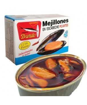 Moules à l'escabèche Dardo 12/16 (rias galiciennes)