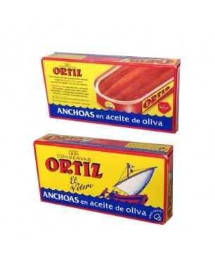 Anchois Ortiz à l'huile d'olive