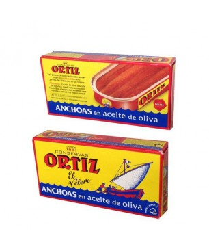 Anchovies in olive oil Ortiz