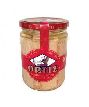 Thunfisch Ortiz der Sorte Bonito del Norte (Weißer Thunfisch ganze lende) in Olivenöl