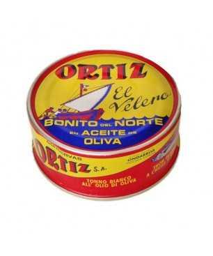 Bonítol del nord Ortiz en oli d'oliva 250gr