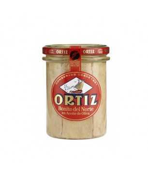 Thon germon à l'huile d'olive Ortiz 220gr