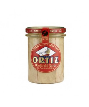 Tonno bianco in olio di oliva Ortiz 220gr