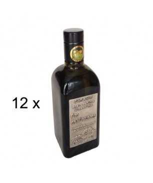 12 x Oro del desierto ECOLÓGICO 500ml, aceite de oliva virgen extra