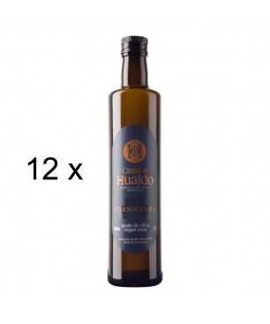 12 x Aceite de Oliva Virgen Extra 100% Cornicabra, Casas de Hualdo (500ml)