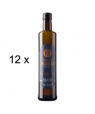 12 x L'huile d'olive extra vierge 100% Cornicabra, Casas de Hualdo (500 ml)