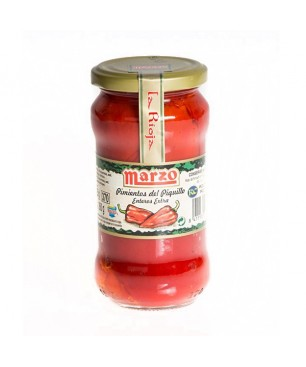 "Red ""Piquillo"" Peppers of Marzo - jar 190 grs."