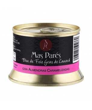 Foie Gras with Almonds Millefeuille - Mas Parés 130g