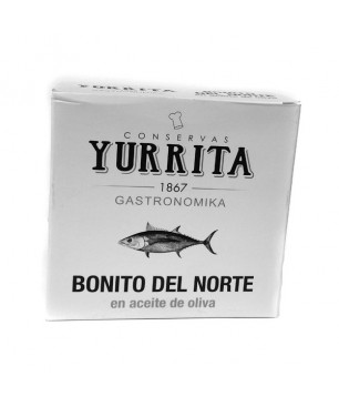 Trunk of White Tuna in Olive Oil Extra Virgin - Yurrita 266gr