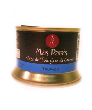 Duck truffled Foie Gras of Mas Pares - 130g