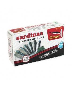 Sardinas en aceite de oliva 12/18 Dardo