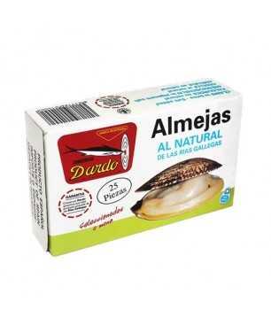 Natürliche Muscheln 25 Stück Dardo(Galizischen Rias)