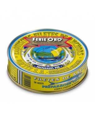 Anchoves Ortiz en oli d'oliva RO-550 Serie Oro 67-75 unitats