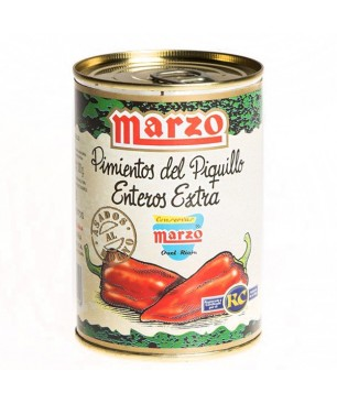 Piquillo peppers extra entire Marzo 390g (12-22)
