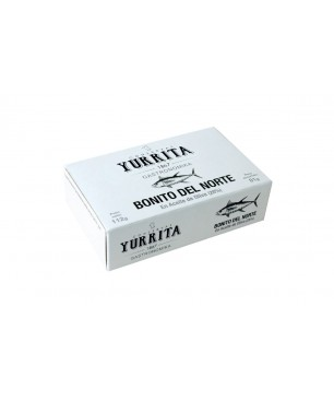 Albacore tuna in olive oil Yurrita - 112gr