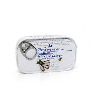 Little sardines in olive oil Frinsa 120 gr.