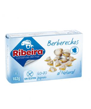 Berberechos al natural 35/45 Ribeira