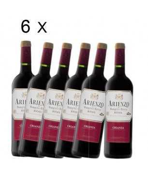 Pack V8 - Arienzo Marqués de Riscal Crianza, DO Rioja X 6