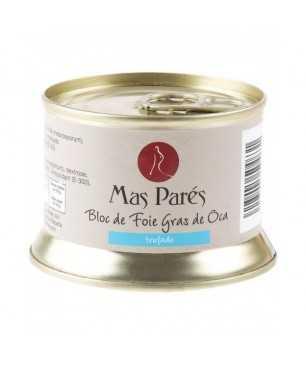 Foie gras de oca natural trufado Más Parés