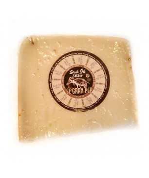 Cheese Goat long-matured El Gran Pep, Sant Gil Albió PORTION