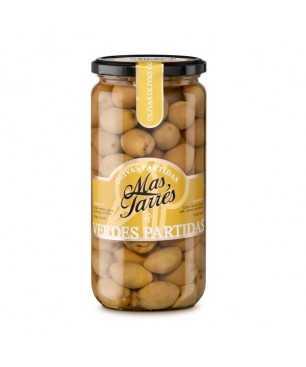Olives verdes partides Mas Tarrés (450g)
