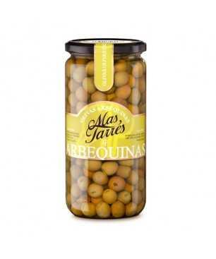 Grüne Oliven der Sorte Arbequina von Mas Tarres (450gr)