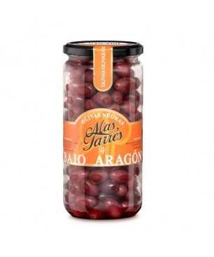 Aceitunas negras del Bajo Aragón, Más Tarrés (450g)