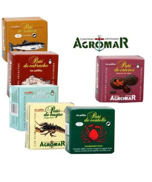 """Pack S4 - Agromar """"Pasión por el mar"""""""
