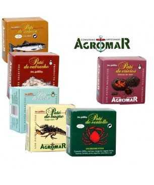 Pack S4 - pâtés Agromar
