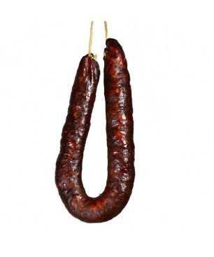 Hausgemachter scharfer Chorizo von León