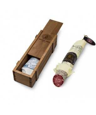 Saucisson de Vic cular truffé, Casa Riera Ordeix, 300g (en boite de carton)