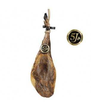 Jambon de Bellota 100% ibèrique Cinco Jotas (5J) de Jabugo