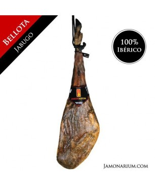 "Ham 100% Iberico de Bellota (Jabugo, Huelva) - ""Pata negra"""