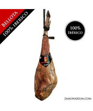 Jamón de Bellota ibérico, 100% raza ibérica - Pata negra