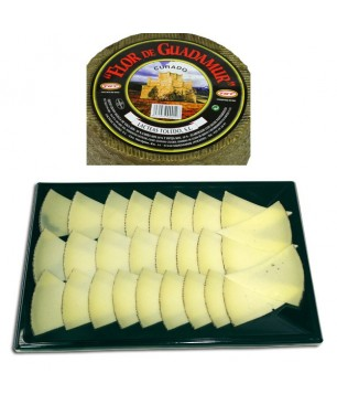 Flor de Guadamur semi-sec cheese tray (brevis, cow, goat) (300gr)