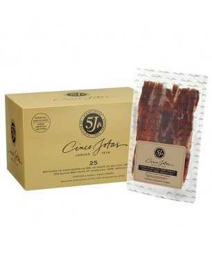 Jamón de Jabugo Cinco Jotas (5J) 100% ibérico de bellota - PACK CORTADO 25 sobres