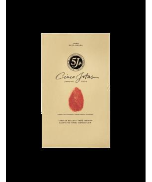Lonza di maiale Ibérico de Bellota semicircolare Cinco Jotas (5j), 100% Gara ibérica